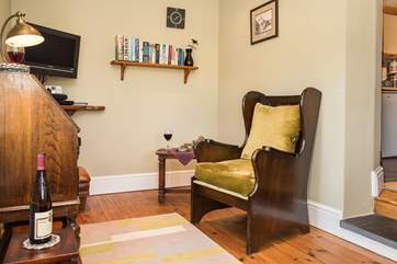 The far end of the sitting room f