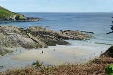 Talland Bay.