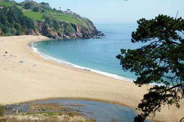 Blackpool Sands is a short drive away and is great for children and summer picnics.