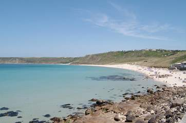 Sennen Cove is well worth a visit, just seven miles distant.