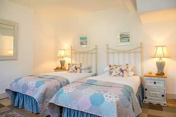 The bedrooms are beautifully styled and very comfortable