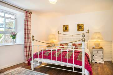 The bedrooms are beautifully furnished
