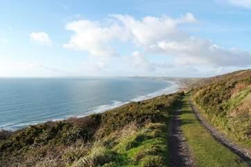 There are wonderful coastal walks nearby.