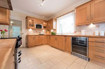 All necessary appliances are provided - including a wine fridge!