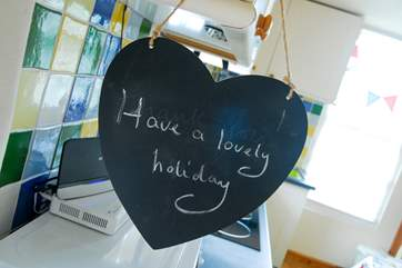 We hope you have a happy holiday!