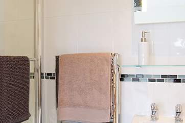 The shower-room is en suite to the master bedroom.