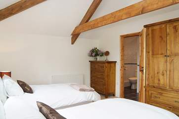 This bedroom has an en suite shower-room (Bedroom 3).