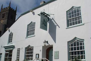The Church House Inn won 'Best Dining Pub in Devon' in the 2013 Good Pub Guide.