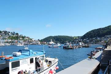 There are plenty of boats in Dartmouth offering fishing trips.