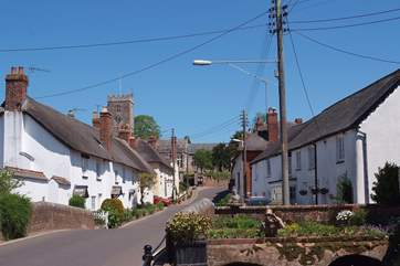 East Budleigh is a very tranquil village with a community run village shop for local provisions.