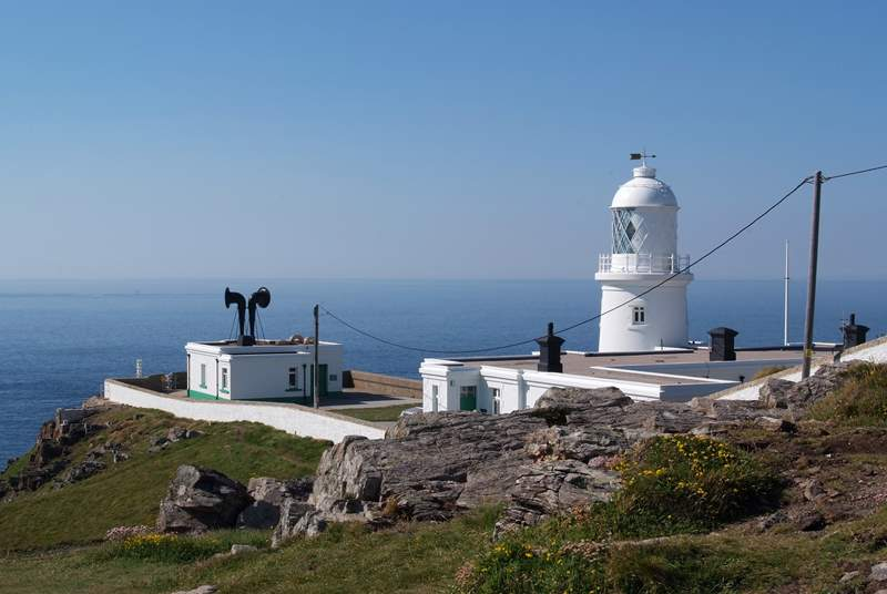 Pendeen lighthouse is one of the numerous lighthouses to visit in the area.