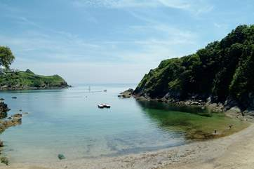 Readymoney Cove in Fowey is a great family beach.