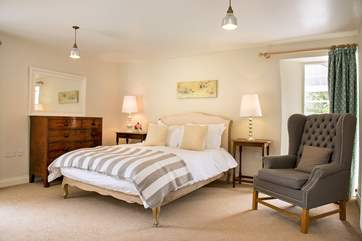 Trewane Barn has 3 beautifully furnished bedrooms