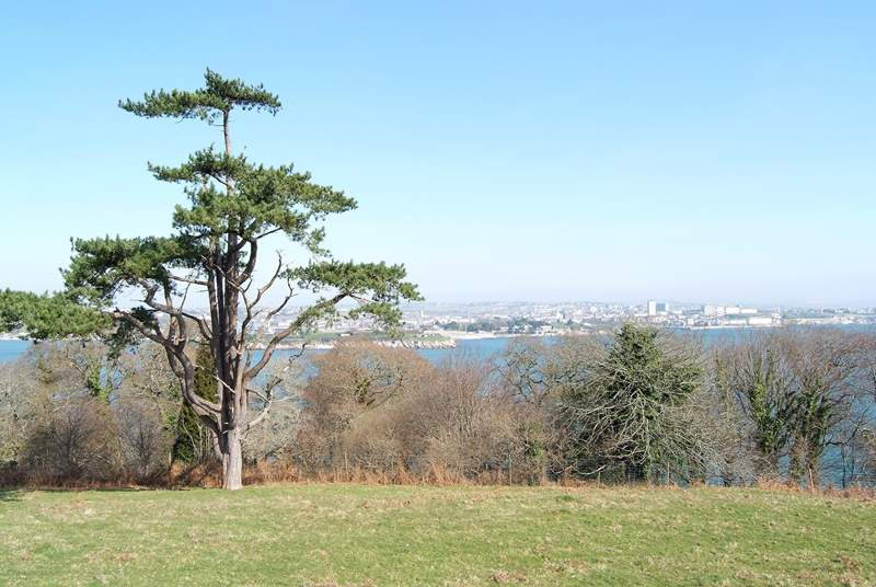Mount Edgcumbe County Park is nearby with walks through the grounds looking out over Plymouth Sound.