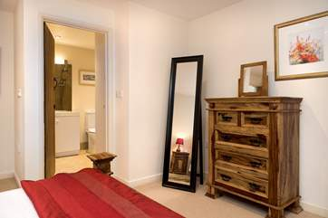 The double bedroom also has the benefit of an en-suite