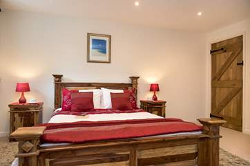 The lovely double bedroom