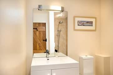 Bedroom One has an en-suite wet room