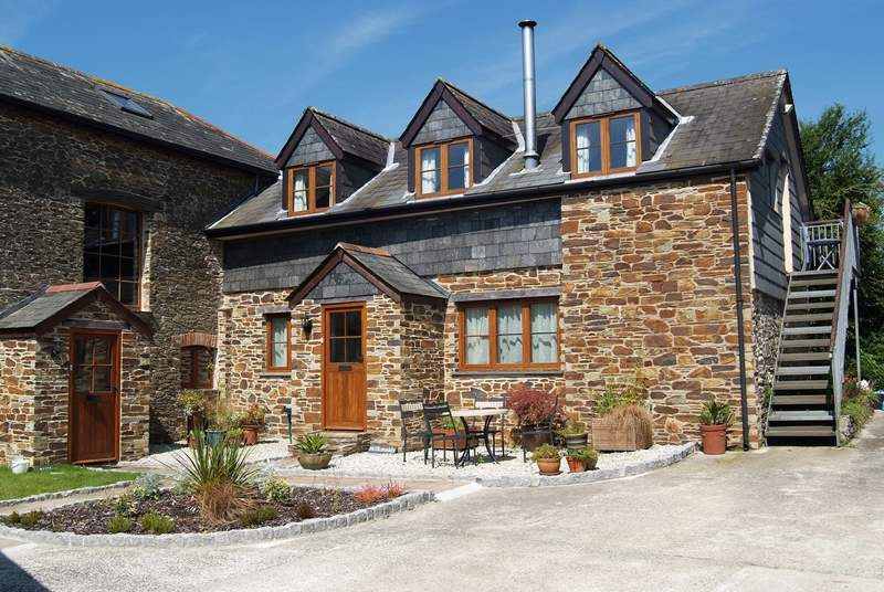 Milkmaids is a lovely stone-built barn conversion.