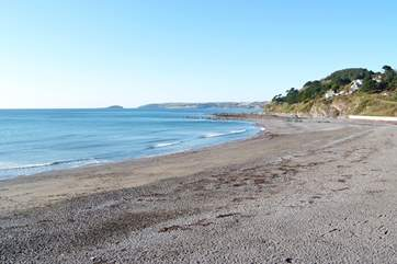 Seaton beach is a short drive away.