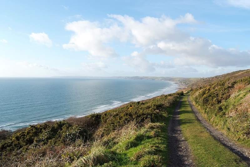 There are wonderful coastal walks in the area.