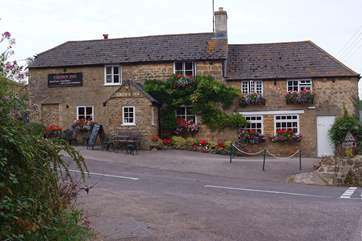 There is a lovely traditional pub in the village.