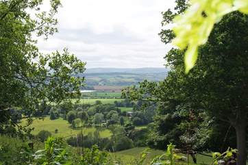 Halse sits in this valley, halfway between Exmoor and The Quantock Hills.
