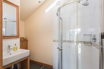 The en suite shower-room for the master bedroom.