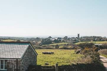 On a clear day you can see all the way to St Ives,