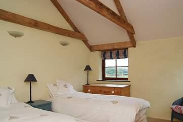 The 'zip and link' bedroom (Bedroom 2).