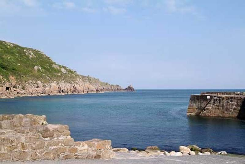 Lamorna Cove is just four miles distant.
