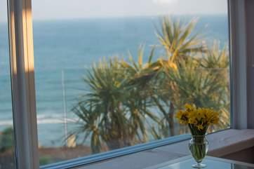 Sea views.
