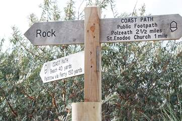 Fantastic coastal walks are to be explored at Rock.