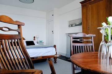 The master bedroom boasts glorious sea views (Bedroom 1).