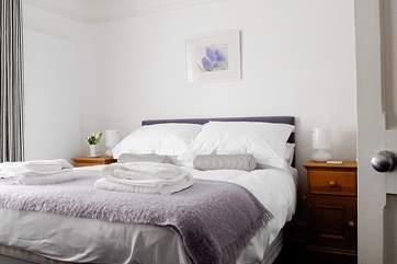 Bedroom 3, the double room.