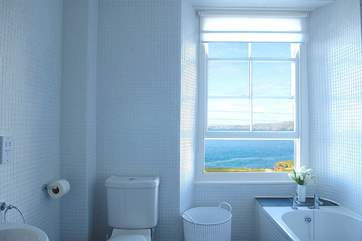 Even the bathroom has fabulous views.