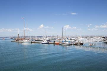 Breath-taking views can be enjoyed as you stroll around Brixham.