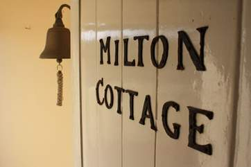 Welcome to Milton Cottage.