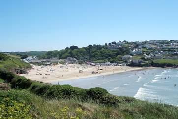 Polzeath beach.