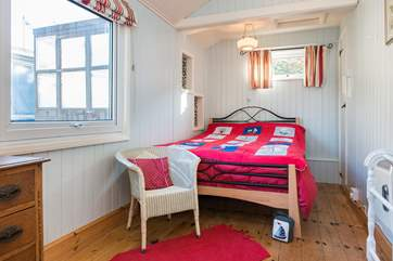 Bedroom 2 (double) which also has an en suite shower-room.