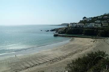 Looe beach.