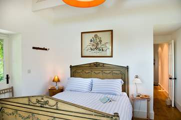 Owl Barn has two comfortable bedrooms both beautifully furnished.