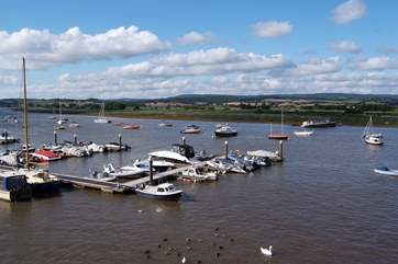 The Exe estuary from Topsham.