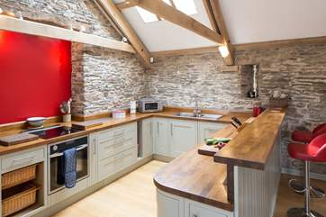 A chance to show off your culinary skills in this great kitchen.