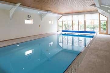 The splendid indoor pool.