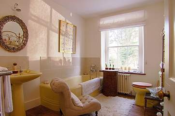 The primrose bathroom.
