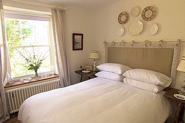 One of the comfortable bedrooms.