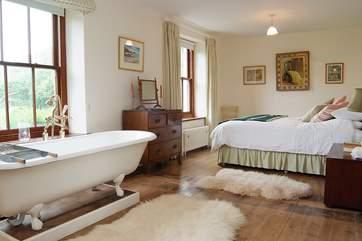 The lovely master bedroom.