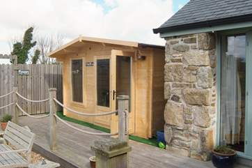 The Owl House games-room replaces the former outdoor table-tennis.