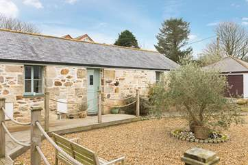 Welcome to Poppy, a semi-detached single storey cute as a button barn conversion.
