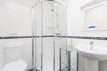 The en-suite shower-room.